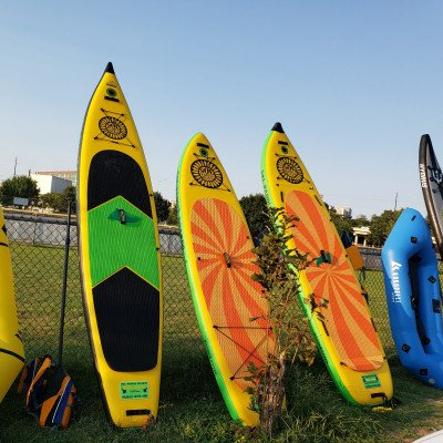 Free SUP Rental for New Ruckify Members - SOL Train All-Around Paddleboard picture 1