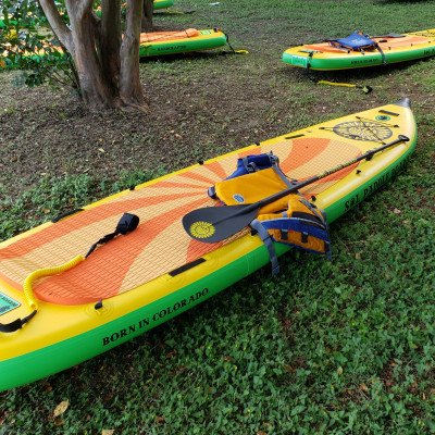 Free SUP Rental for New Ruckify Members - SOL Train All-Around Paddleboard picture 2