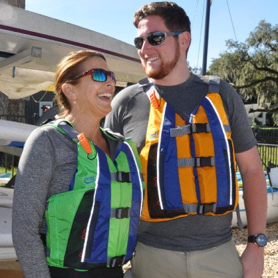 Life Preserver PFD - Adult Universal Size - MTI Adventurewear Nomad - Sunset Package picture 6