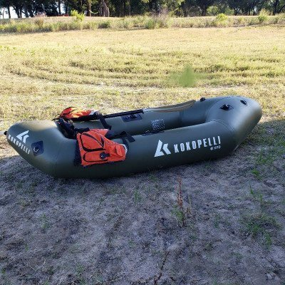 24 hour boat inflatable package - paddle for single paddler - kokopelli xpd-4