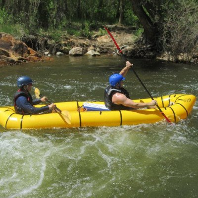 Free Packraft Rental for New Ruckify Members - Kokopelli Twain for 2 People or 1 Person and Dog picture 5