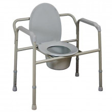 stationary commode