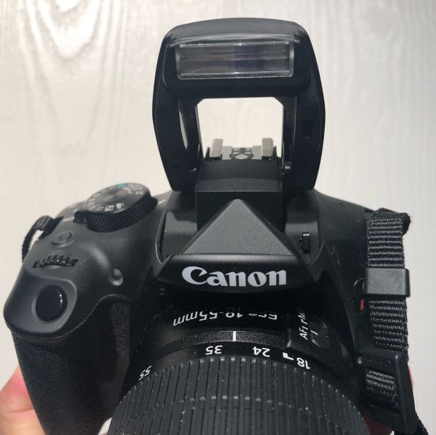 canon eos rebel T6 dslr camera with Ef-s 18-55mm
