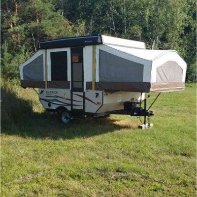 camping trailer - forest river-4