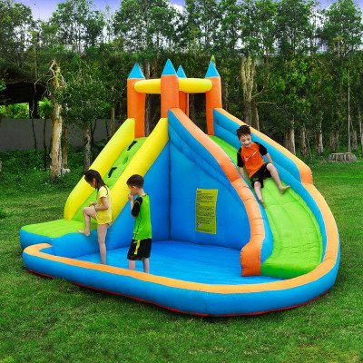 inflatable bounce slide picture 1