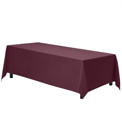 rectangle tablecloth - burgundy