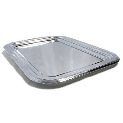 chrome plated serving tray-1