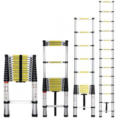 12.5ft telescoping extension ladder-5
