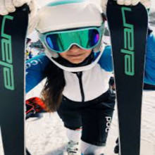 Elan- Alpine Junior Skis - 130-140cm