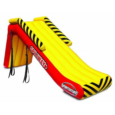 inflatable pontoon slide picture 1