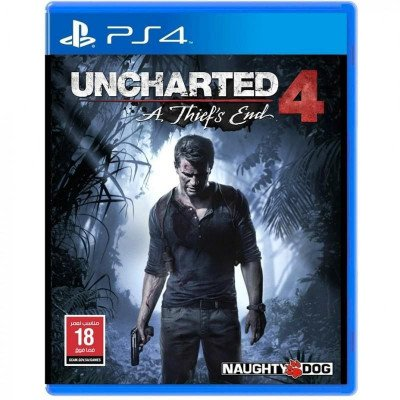 uncharted: a thief's end- ps4 game