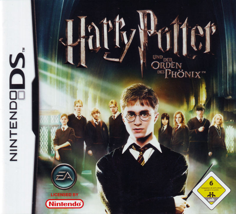 harry potter & the order of the phoenix - ds game