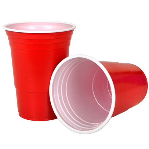 beer pong table with cups-1