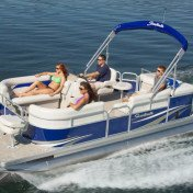 Pontoon boat - sweetwater 2086 bf
