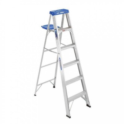 FOLD STEP LADDER 6' picture 1