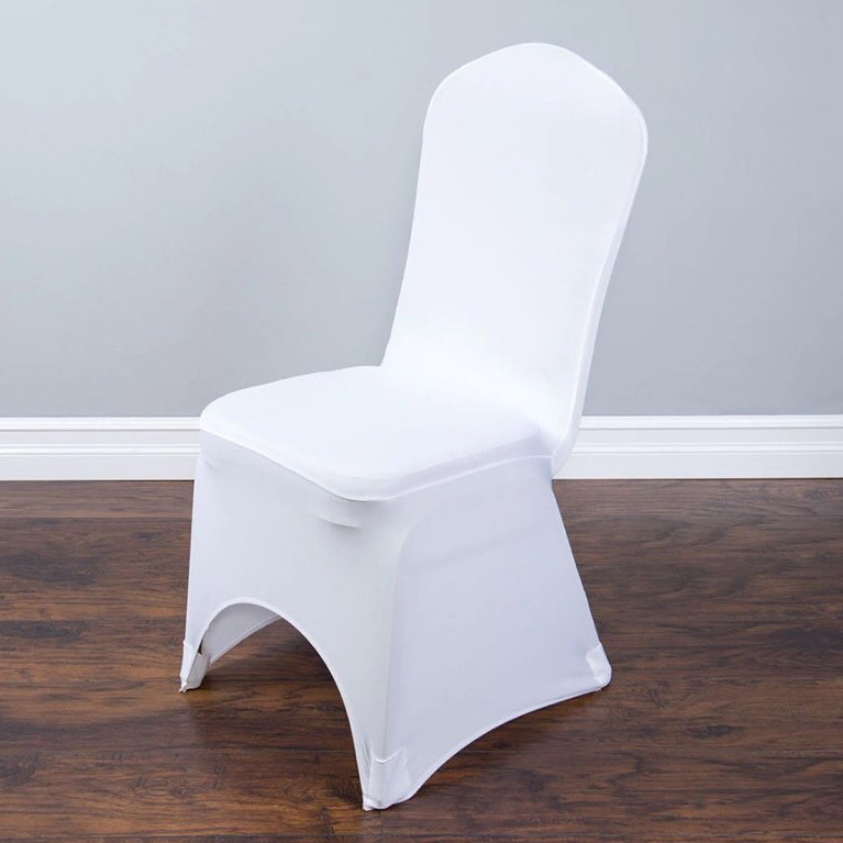 spandex chair covers- white-1
