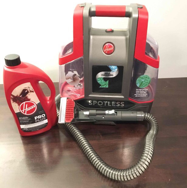 Hoover carpet and upholstery cleaner