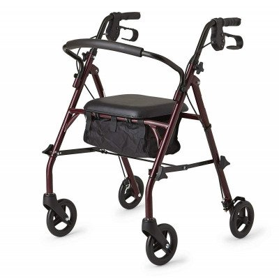 steel rollator walker picture 1