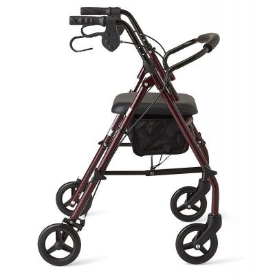 steel rollator walker picture 3
