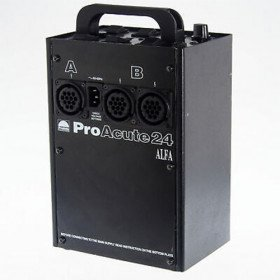 Profoto Acute 24--3 Flash Heads 2400 WS