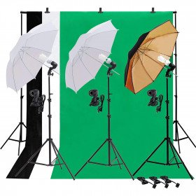 Light Reflecting Umbrellas - Various Sizes and Types