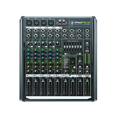 8-channel professional mixer picture 1