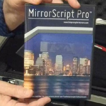 Teleprompter only for a pc or mac