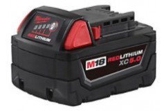 Milwaukee – M18 Redlithium High Demand 5.0 Battery Pack