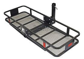k2 inc – hcc602 hitch mounted cargo carrier basket