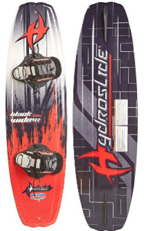 "hydroslide – black widow 56"" wakeboard"