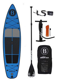 "Bright Blue - 11'6"" Inflatable Stand Up Paddle Board"