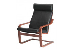 Armchair - Medium Brown