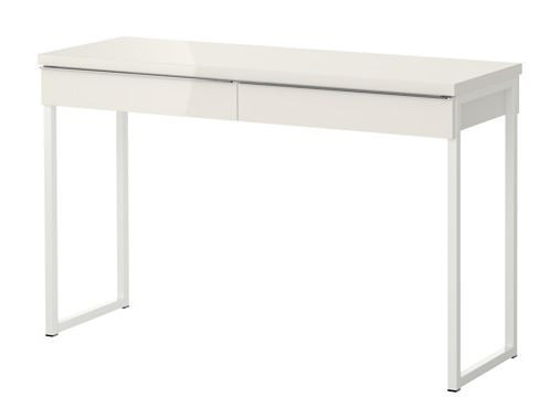 Desk, Gloss White