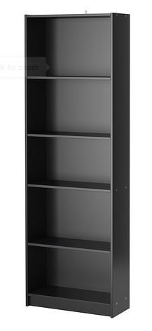 Bookcase, Black
