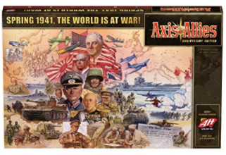 Axis and Allies 1941 Anniversary Edition Board Game