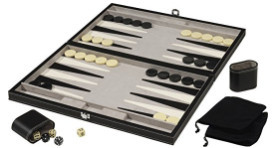 "Backgammon 18"" Board Game Set"