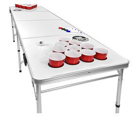GoSports – Giant 8' Beer Pong Game Table