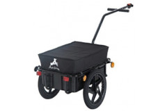 Aosom - Enclosed Bicycle Cargo Trailer