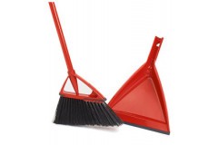 Vileda Oskar – Broom with Dust Pan