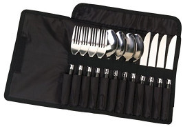 Coleman – 12-Piece Stainless Steel Flatware Set