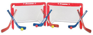 Franklin – NHL 2 Goal Stick and Ball Set