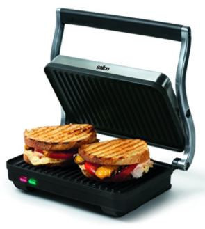 Salton – Stainless Steel Panini Grill