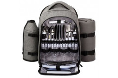 HapTim - Picnic Backpack for 4 Person