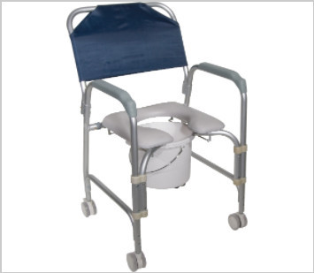 commode and shower chair