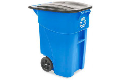 Commercial 50 Gallon Recycling Can