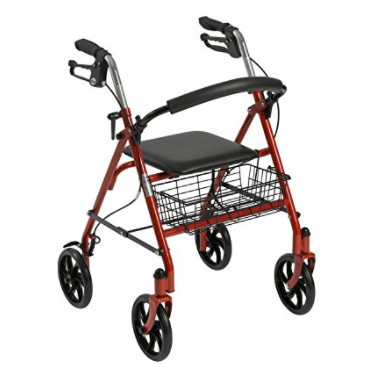 Walker Rollator with Seat