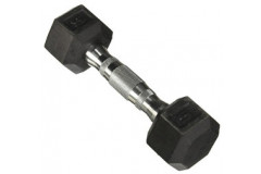 Hex Rubber Coated 10 lbs Dumbbell