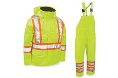 Safety Hazard Rain Suit