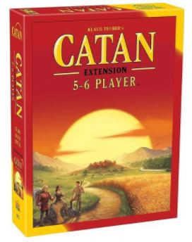 catan – 5-6 player 5th edition extension set