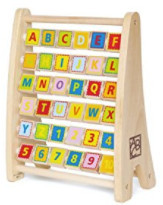 Hape – Alphabet Abacus Wooden Counting Toy